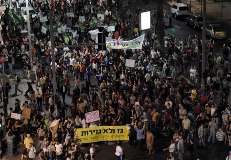 Anti-Netanyahu Rally Draws Huge Crowd in Tel Aviv