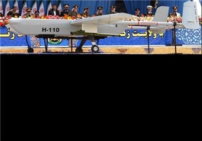 ایران الاسلامیة تزیح الستار عن احدث طائرة من دون طیار