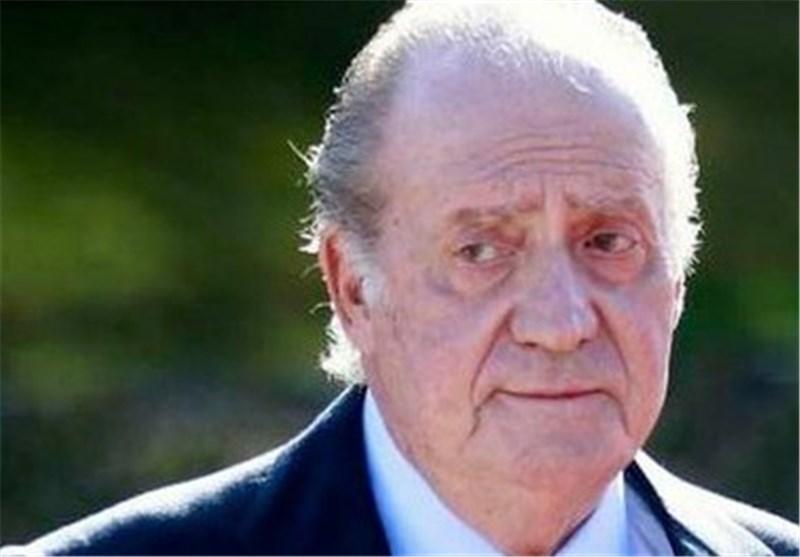 سقوط آزاد محبوبیت پادشاه اسپانیا
