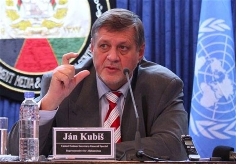 Iranian FM, UN Envoy Discuss Iraq's Anti-Terrorism Campaign