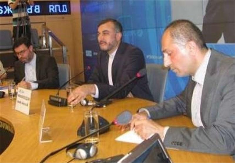 عبد اللهیان : الغرب مسؤول عن الجرائم التی ترتکب ضد الشعب السوری وطهران ترحب باجتماع جنیف 2