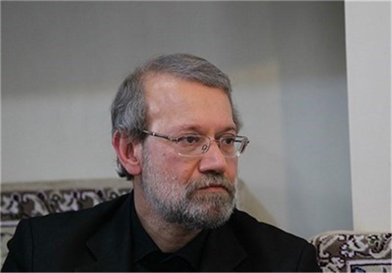 لاریجانی: المشارکة الشعبیة القصوى فی الانتخابات تمنح الثورة الاسلامیة مزیدا من الطاقة
