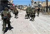 پیشروی ارتش سوریه در حومه دمشق