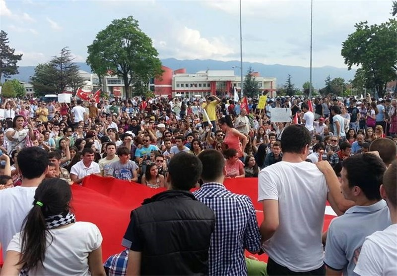 الاحتجاجات فی ترکیا