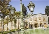 روایت اینستاگرامی ضرغامی از بازدید کاخ گلستان