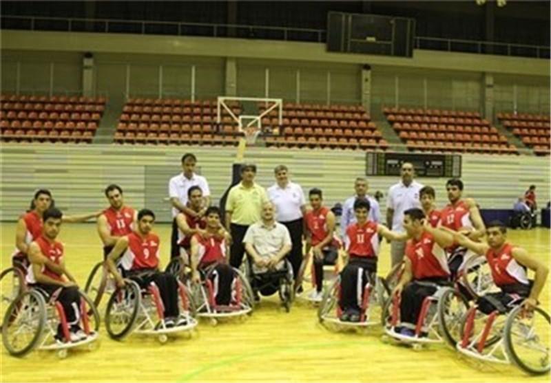 منتخبنا الوطنی یتوج بطلا لشباب آسیا بکرة السلة للمقعدین