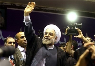 الدکتور حسن روحانی رئیسا جدیدا لایران الاسلامیة