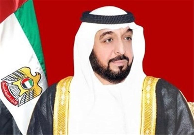 الرئیس روحانی یتسلم برقیة تهنئة من رئیس دولة الامارات