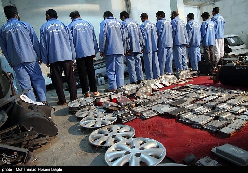 دستگیری باند سارقین خودرو - مشهد