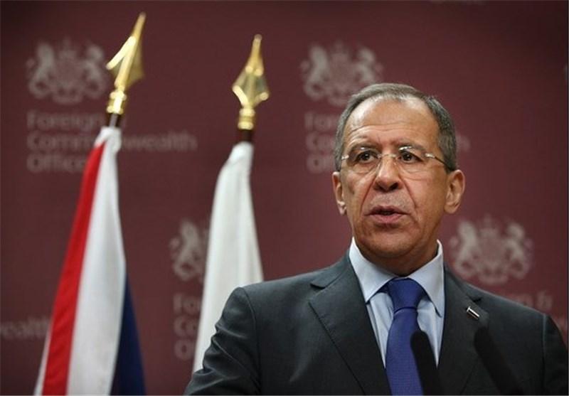 لاوروف: مذاکرات بین سوریها به آهستگی جریان دارد