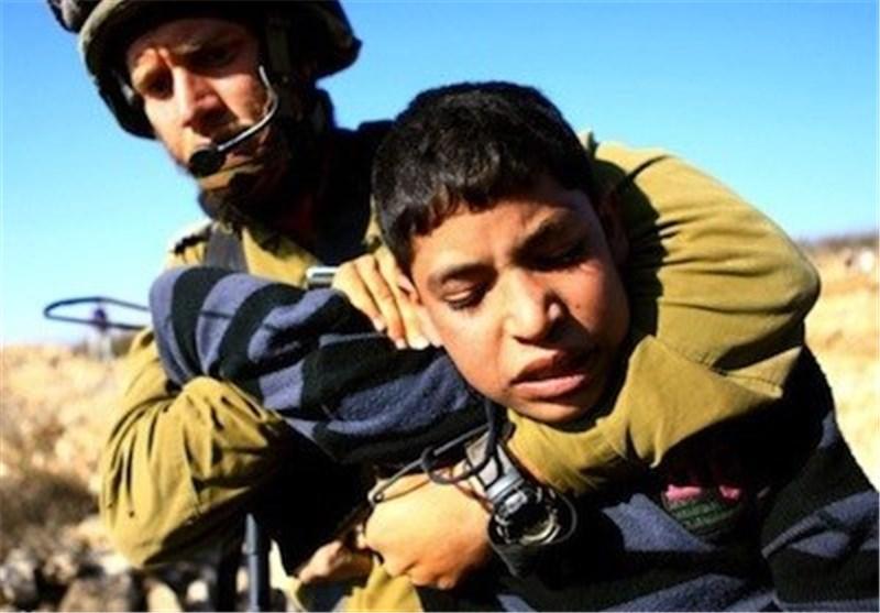 زخمی شدن یک کودک فلسطینی بر اثر تیراندازی یک نظامی اسرائیلی