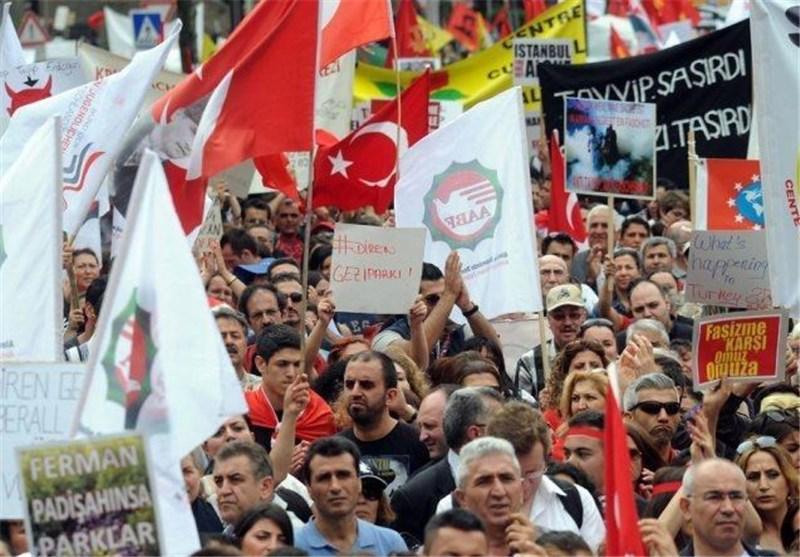 تظاهرات علویهای مقیم اروپا در حمایت از اعتراضات مردم ترکیه