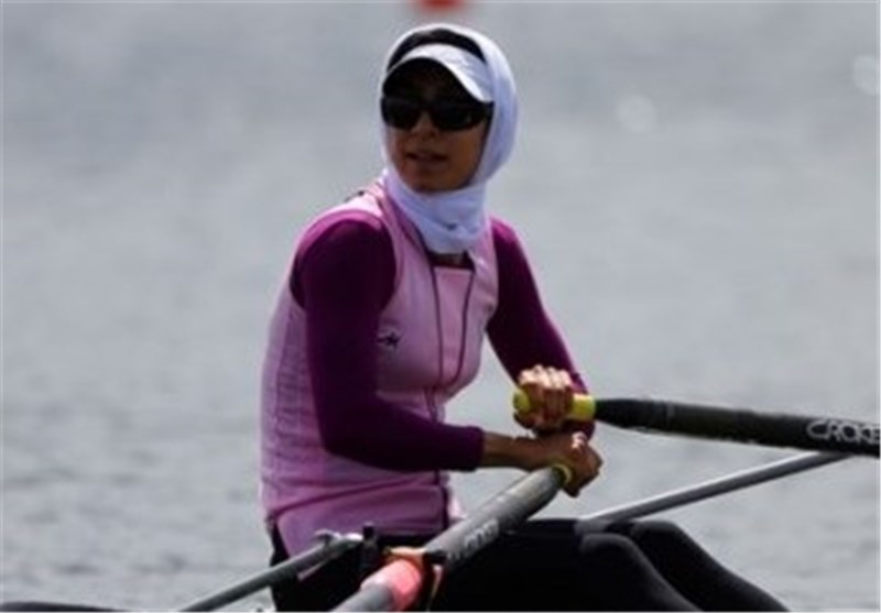 Iran's Soulmaz Abbasi Bags Bronze in Lightweight Single Sculls