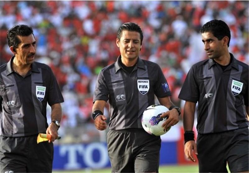 علیرضا فغانی - تیم داوری ایران در جام جهانی