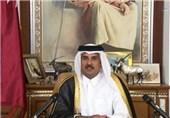 تماس تلفنی امیر قطر با رئیسجمهوری عراق