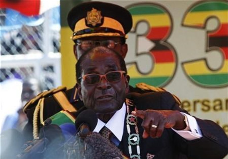 رابرت موگابه سوگند یاد کرد