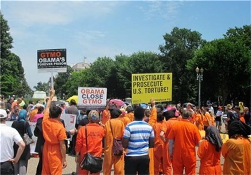 واشنطن تشهد تظاهرات مناهضة للحرب ودخول أحد المتحجین الی باحة البیت الابیض