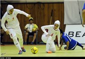 Iran Women Futsal Team Beats Russia in Friendly