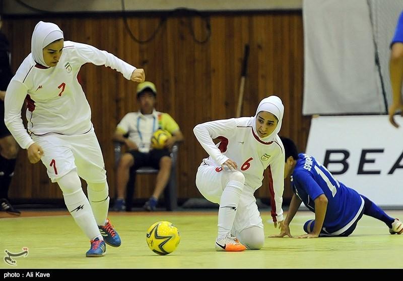 Iran Women Futsal Team Beats Russia in Friendly