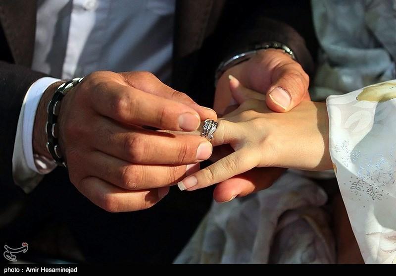 جشن ازدواج 300 زوج به مناسبت اعیاد شعبانیه