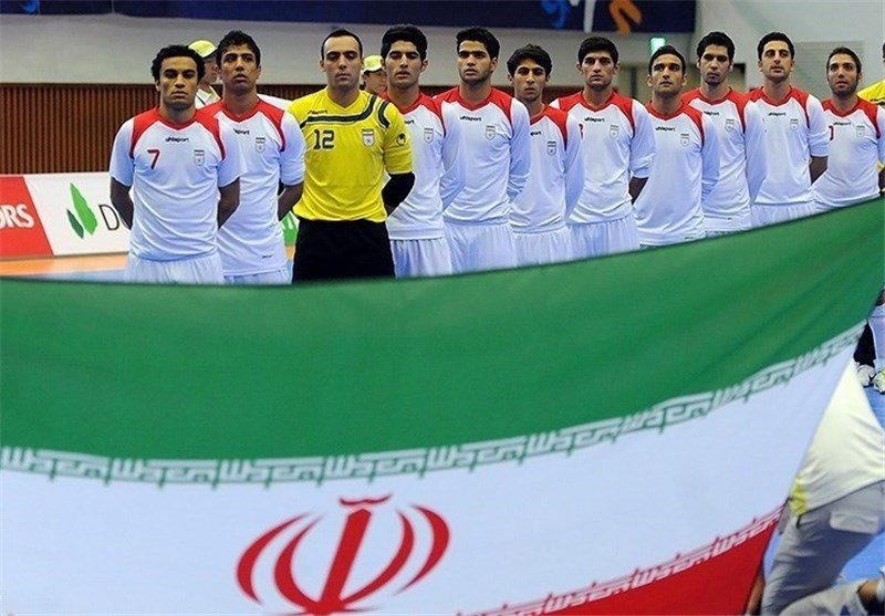 Iran Drawn with Australia in AFC Futsal Championship