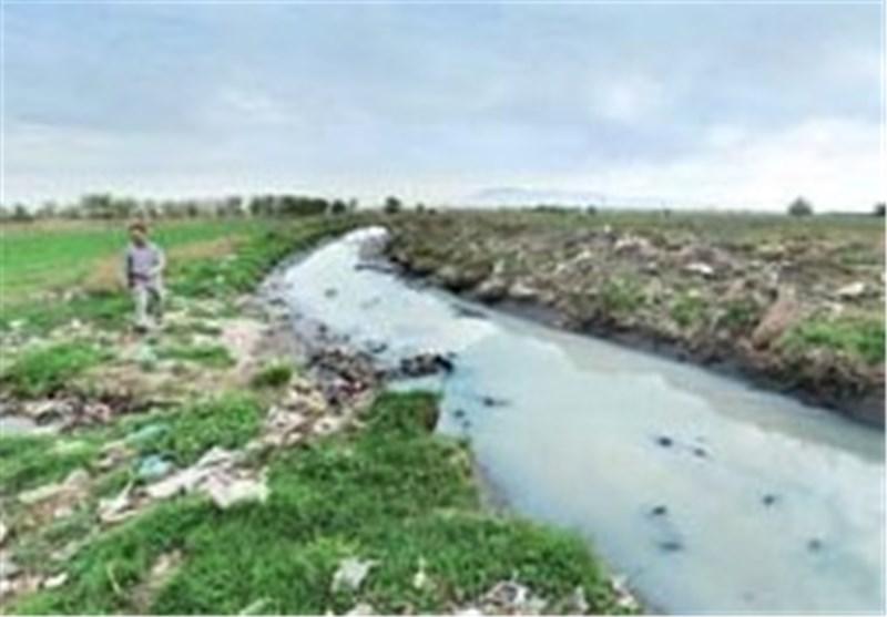 آب خروجی دریاچه فاضلاب اسحاقآباد نیشابور قابل استفاده شد