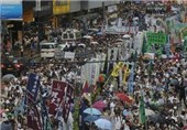 Hong Kong Protesters Plan March after Fruitless Talks with Government