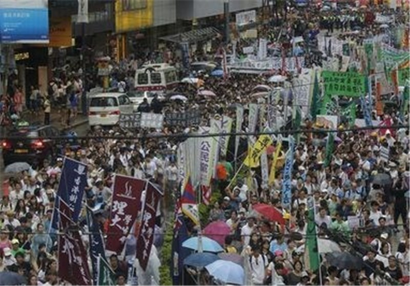 HK Protesters Plan Fresh Show of Force after Talks Collapse