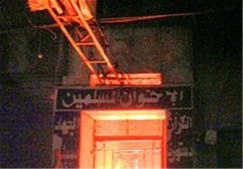 ألسنة اللهب تلتهم مقر الأخوان المسلمین فى مسقط رأس مرسى بالشرقیة