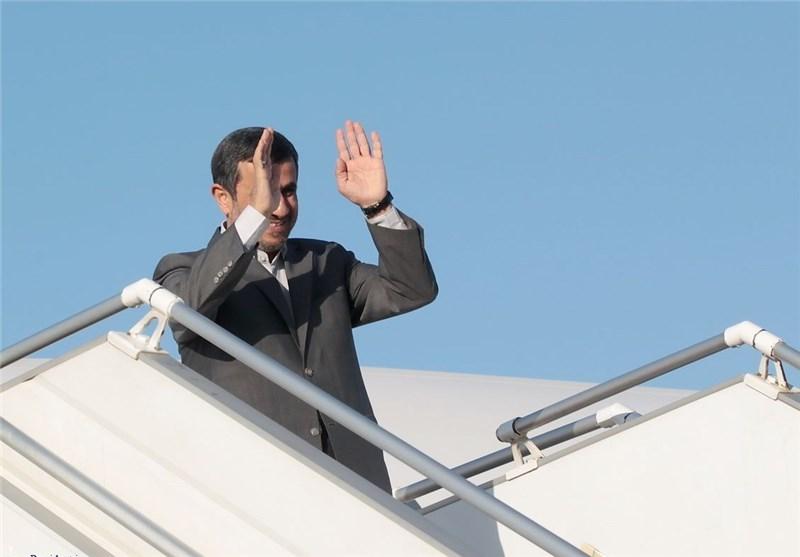 احمدینژاد تهران را به مقصد بغداد ترک کرد