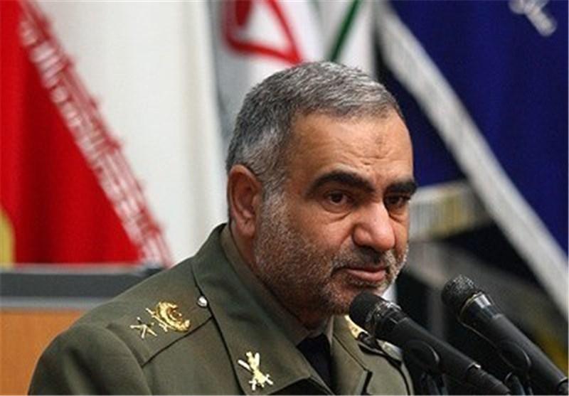 امیر عزتی معاون هماهنگ کننده ارتش