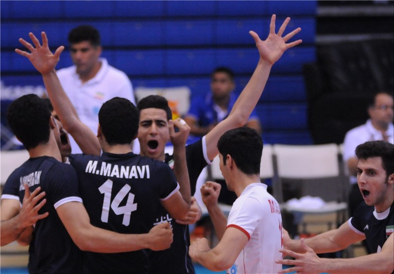 Iranian Junior Volleyballers Stand 3rd in FIVB Ranking
