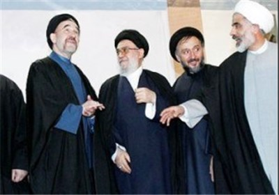 خاتمی خوئینی ها ابطحی انصاری اصلاح طلبان
