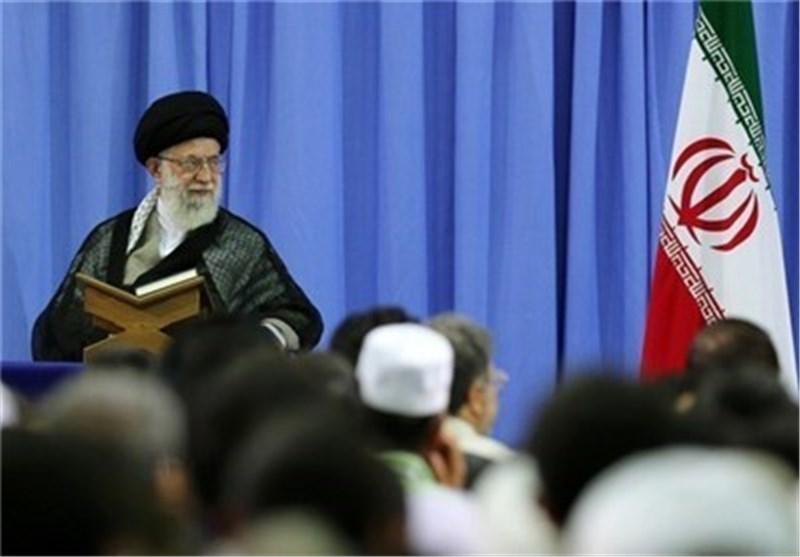 قائد الثورة الاسلامیة یرعی عصر الیوم المحفل القرآنی السنوی