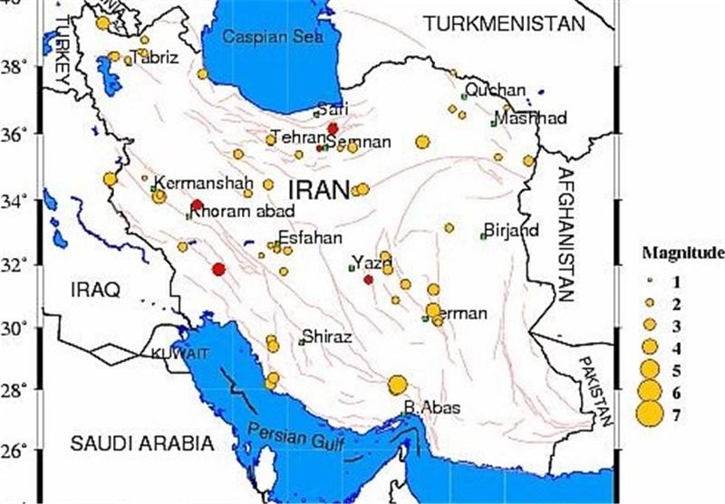 Mild Quake Hits Southeastern Iran
