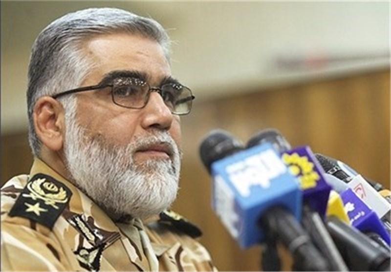 قائد القوات البریة یشدد على الیقظة والحذر لإحباط کافة تهدیدات الاعداء