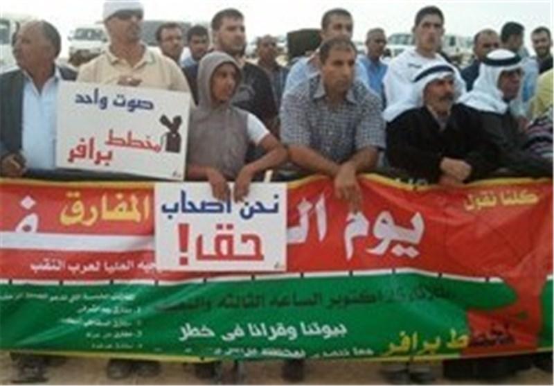 """""""إضراب الغضب"""" یعم أراضی 48 ضد تهوید النقب وسلطات الاحتلال الصهیونی تشن حملة اعتقالات"""