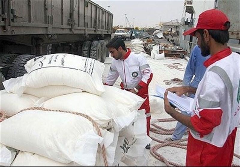 مساعدات ایران الی غزة