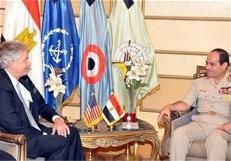 Egypt's Sisi, US Burns Discuss Political Crisis
