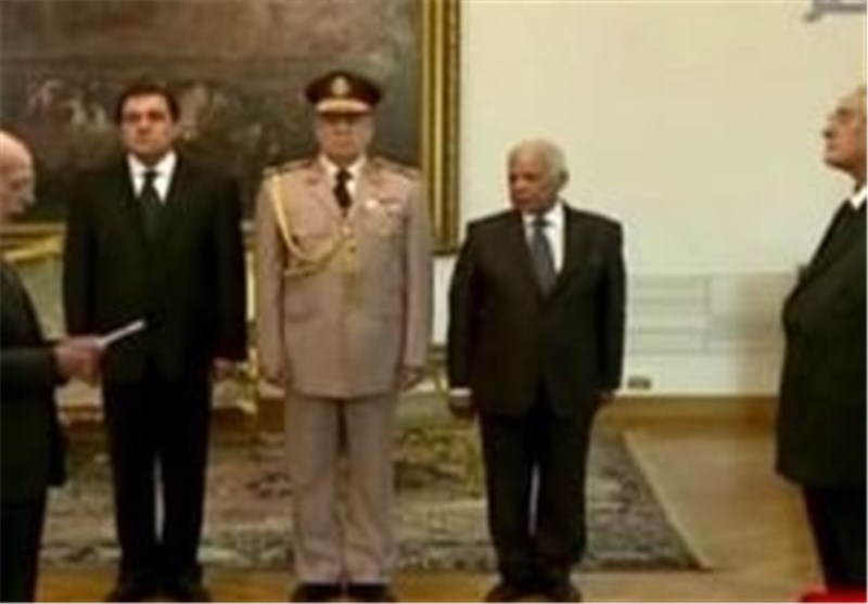 Egypt's Interim President Holds First Meeting with New Cabinet