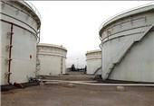 مخزن 500 هزار بشکهای نفت خام در خارک نوسازی شد