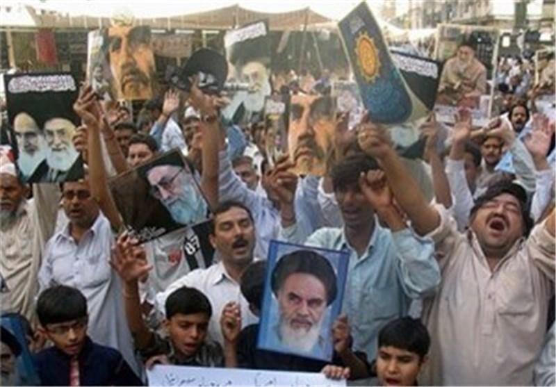 الشعب الباکستانی وقف الی جانب شقیقه الایرانی فی الحرب التی فرضت علی ایران الاسلامیة