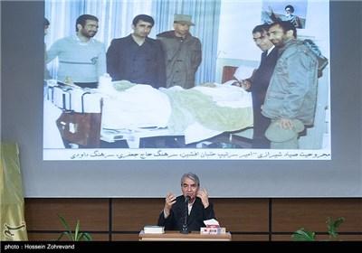 سخنرانی هم رزم شهید صیاد شیرازی