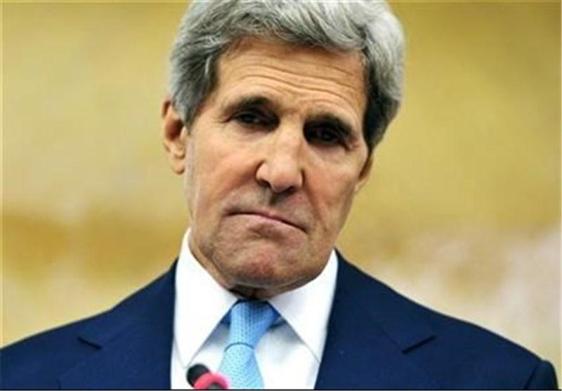 جان کری: سعی داریم به شورشیان سوری سلاح برسانیم