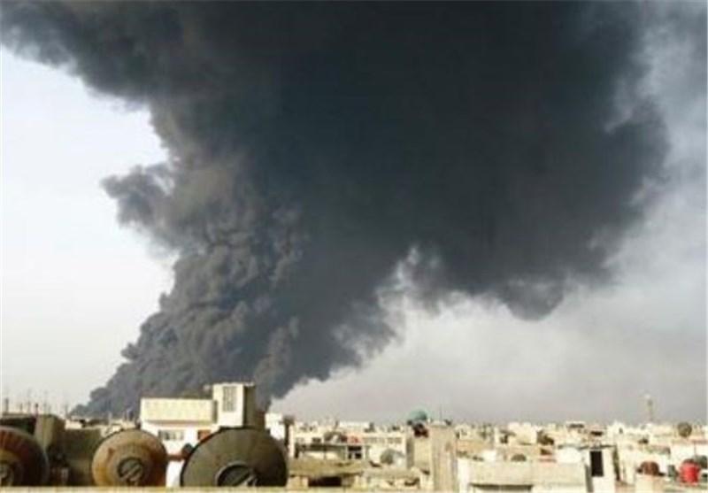 انفجار در خط لوله انتقال نفت جنوب شرق یمن