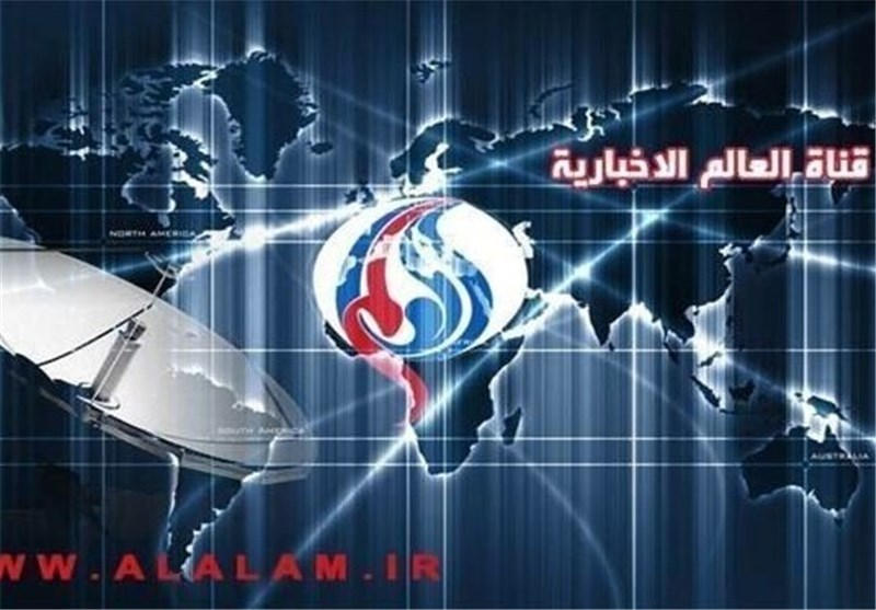 """قناة العالم الاخباریة تتعرض الیوم لتشویش متعمد أثناء تغطیتها """"عاصفة تمرد"""" البحرین"""