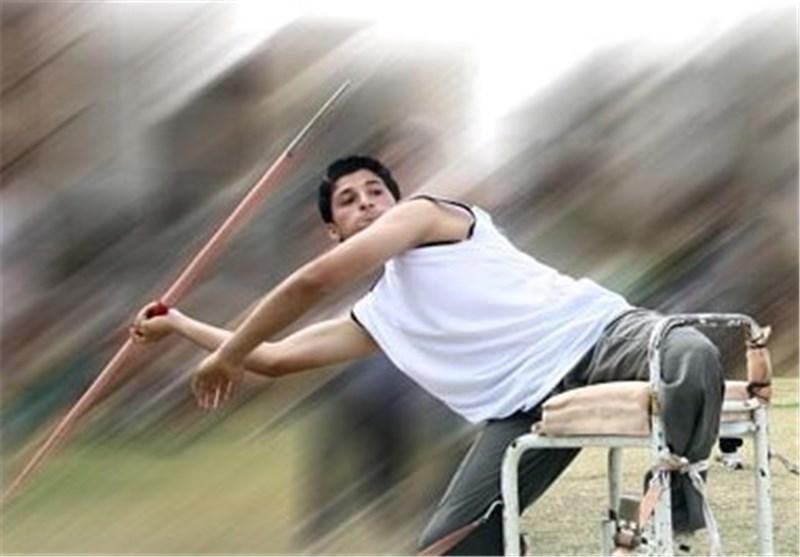 محمد خالوندی - پرتاب نیزه معلولین