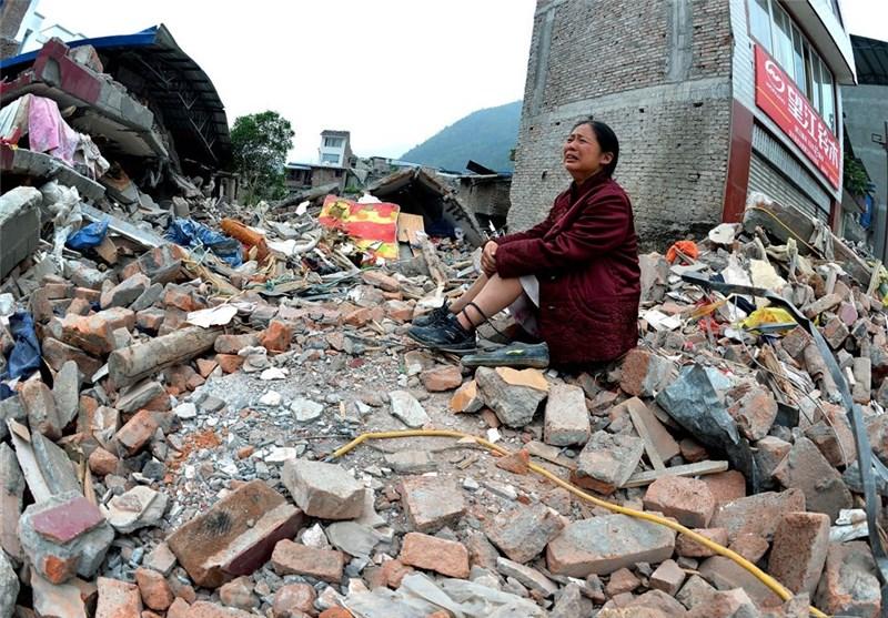 افزایش تلفات زلزله چین به 95 کشته و بیش از هزار زخمی