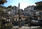 کارشکنی تروریست ها در انتقال کمکهای بشردوستانه به اردوگاه یرموک