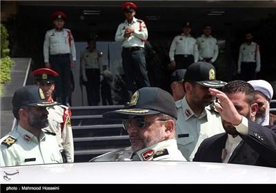 نشست خبری فرمانده ناجا در حاشیه بازدید و نظارت ستادی از فرماندهی انتظامی تهران
